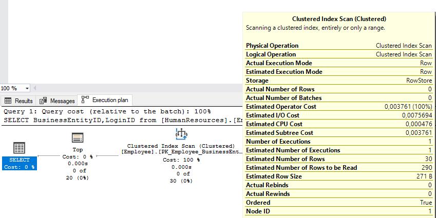 Microsoft SQL Server 2016, using dbcc clonedatabase