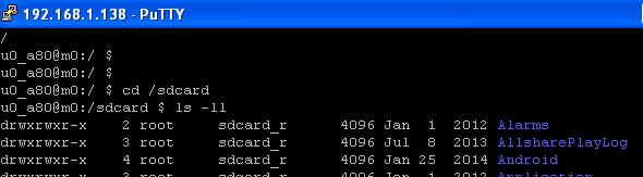 Android - Se connecter avec le protocole SSH sur son